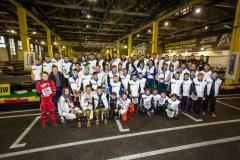 Полный отчет с прошлого финального этапа Всероссийского турнира по картингу «SMP Racing / Газпром-детям»