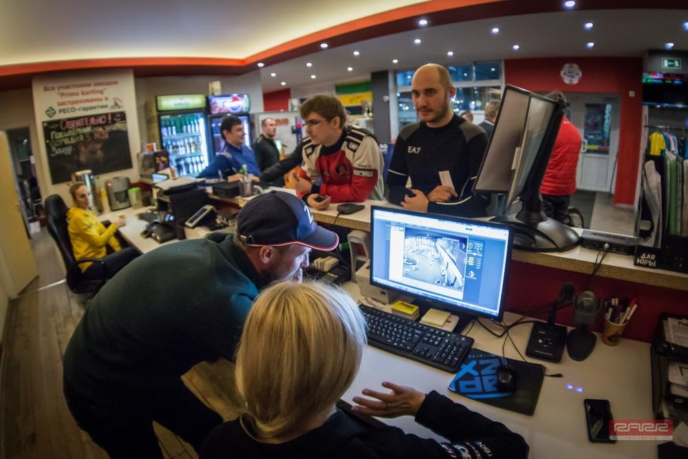 10-й этап любительского чемпионата СПб по картингу RARR 2017/2018