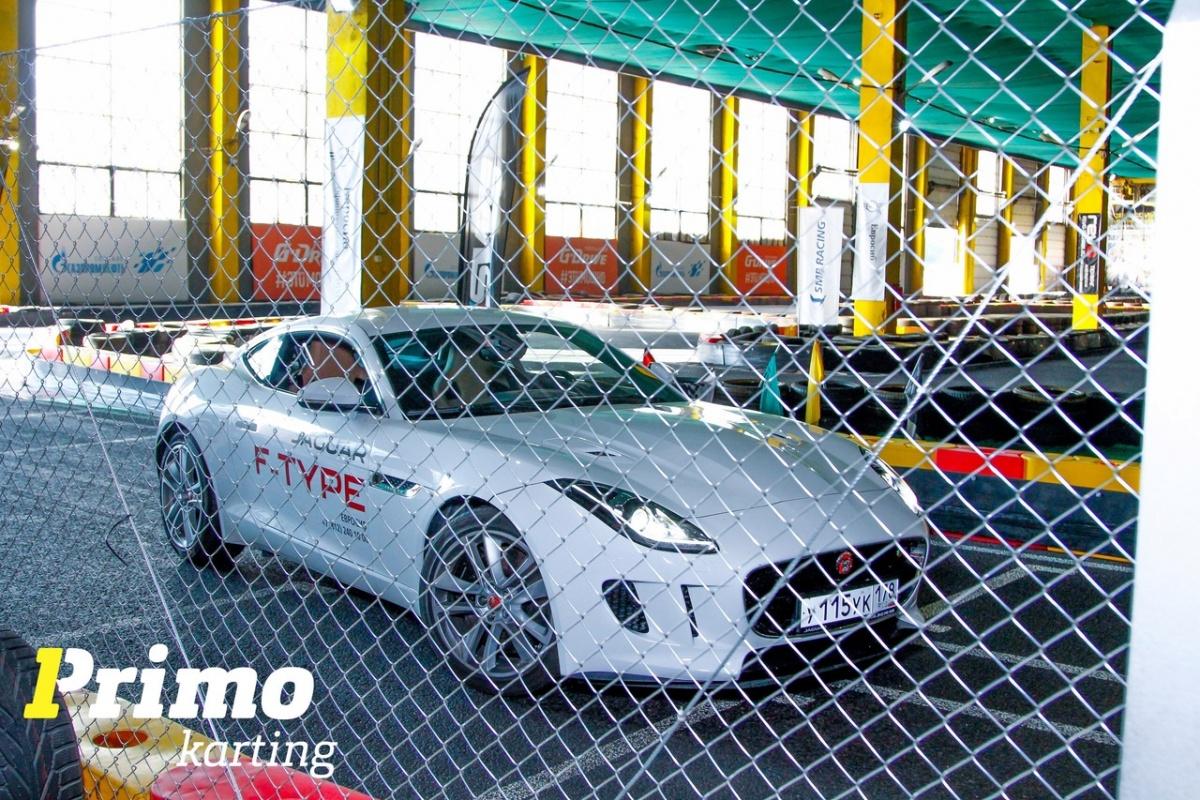 Как Jaguar оказался у нас на треке?
